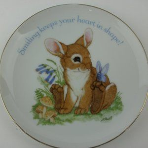 Other - Lasting Memories Fine Porcelain Bunny Plate